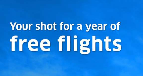 United Airlines Your Shot to Fly Sweepstakes