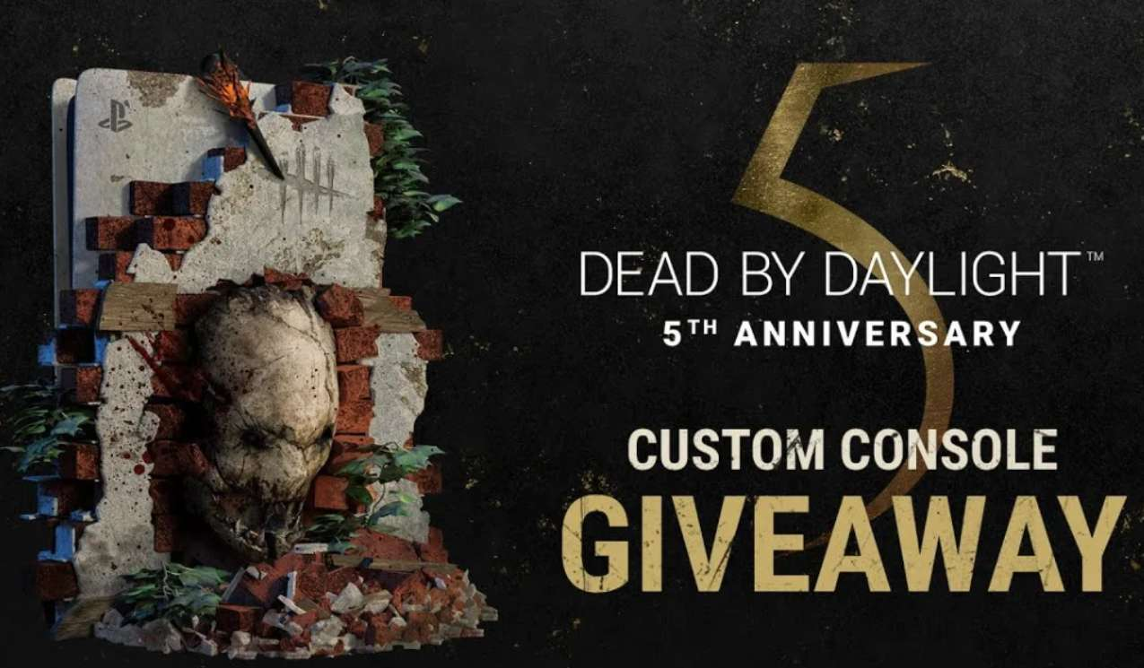 Dead by Daylight Custom PS5 Sweepstakes Giveaway 2021