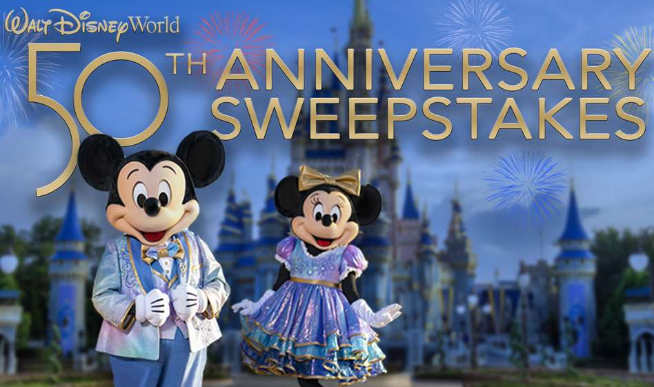 The View Walt Disney World 50th Anniversary Sweepstakes Contest 2021